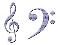 Musical Symbols Royalty Free Stock Photography