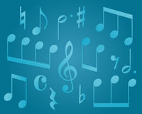 Musical symbols Stock Photography