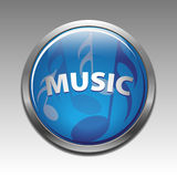 Musical symbols icon  Stock Photography