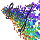 Musical symphony Stock Images