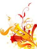 musical tło ilustracji