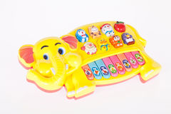 Musical toy piano baby early stimulation Stock Image