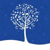 Musical tree Stock Photo