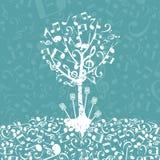 Musical Tree5 Stock Image