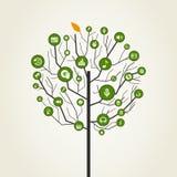 Musical tree9 Stock Image