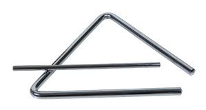 Musical Triangle Stock Photo