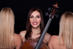 Musical Trio! Royalty Free Stock Photos