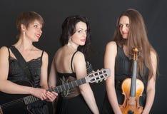 Musical trio Stock Photography