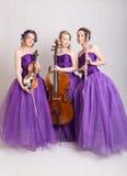 Musical trio Royalty Free Stock Photo