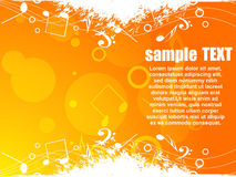 Musical vector background Stock Photo