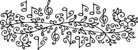 Musical vignette CXXXIV Stock Images