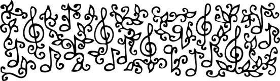 Musical vignette LXVIII Stock Image