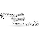 Musical vortex Royalty Free Stock Photography
