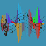 Musical wave Royalty Free Stock Photography
