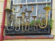 Musical Window Box Stock Photo