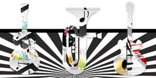 musicale Fotografia Stock Libera da Diritti