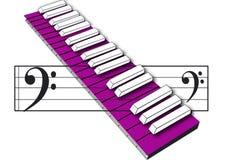 Musicale Fotografie Stock