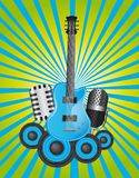 Musicals instruments Royalty Free Stock Photography