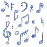MusicalSymbols Royalty Free Stock Image