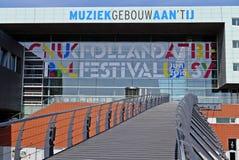 Musicbuilding στο Άμστερνταμ Στοκ Εικόνες