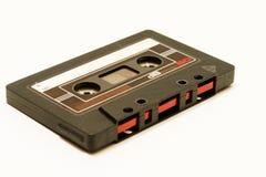 Musiccassette music tape oldschool stock image