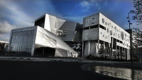 Musichall in Aalborg, Denmark royalty free stock photo