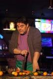 Musician Alexey Galizdra Stock Photo