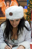 Musician Antonia aus Tirol (Sandra Stumptner) Royalty Free Stock Image