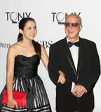 Victoria Lily Shaffer and Paul Shaffer. Musician, bandleader, arranger, comedian and erstwhile David Letterman sidekick, Paul Shaffer, and daughter Victoria Lily Royalty Free Stock Photography