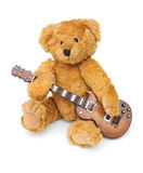Musician bear Royalty Free Stock Photo