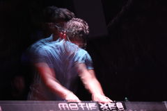Musician-blurred2 Стоковые Изображения RF
