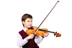 Musician boy Stock Photography