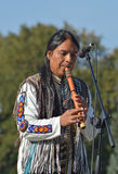 Musician from Ecuador Royalty Free Stock Photo