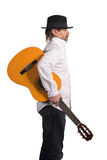Musician with guitar Stock Images