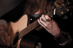 Musician guitarist Royalty Free Stock Images