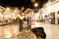 Musician at HUAHIN Stock Photography
