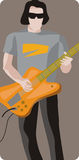 Musician illustration series Stock Photos