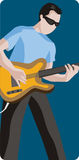 Musician illustration series Royalty Free Stock Photos