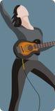 Musician illustration series Royalty Free Stock Photo