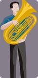 Musician illustration series Stock Photography