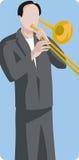 Musician illustration series Stock Photos