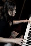 Musician Kharisma Montes de Oca Royalty Free Stock Images