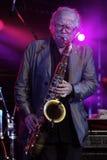 Musician Klaus Doldinger Stock Image