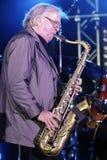 Musician Klaus Doldinger Royalty Free Stock Images