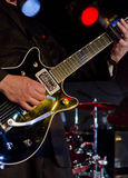 Guitar at the Blues Festival Royalty Free Stock Images