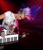 musician playing punk Στοκ Εικόνες