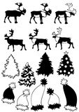 Christmas theme Collection Royalty Free Stock Images