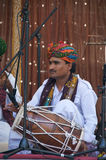 Musician from Rajasthan royalty free stock photography