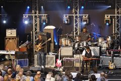 Musician Robert Randolph & The Family Band Royalty Free Stock Images
