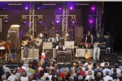 Musician Robert Randolph & The Family Band Royalty Free Stock Photography